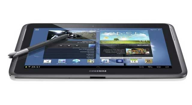 Test Reduction Tablette Tactile Samsung