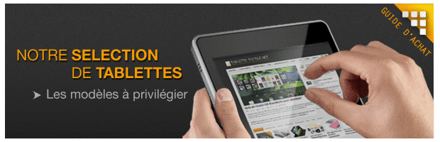 guide dachat meilleure tablette tactile comparatif
