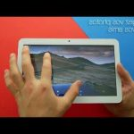 Test vitre tactile tablette archos access 101 3g