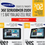 Test tablette tactile samsung promotion